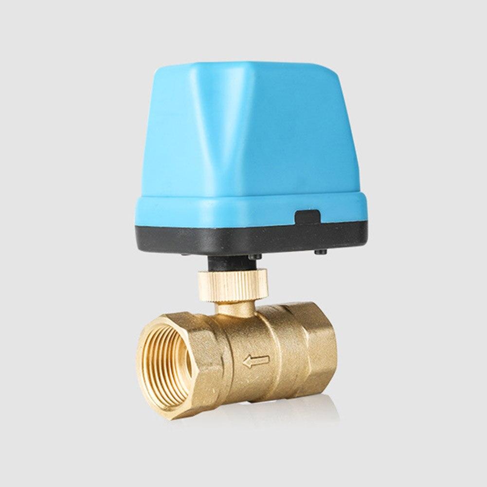 Válvula de bola eléctrica de 220V de latón motorizado de dos vías resistente a prueba de agua tipo válvula de retención válvula de bola de tres vías LB88