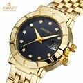 KINGSKY Luxury Brand Women Rhinestone Dress Watches Elegant Fashion Casual Wristwatch Lady Party Bracelet Watch Relogio Feminino