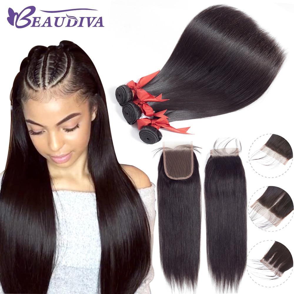 Generous Color 27 Bundles With Closure Honey Blonde Bundles With Closure Brazilian Hair Weave Straight Human Hair 3 Cheap Bundles Human Hair Weaves 3/4 Bundles With Closure