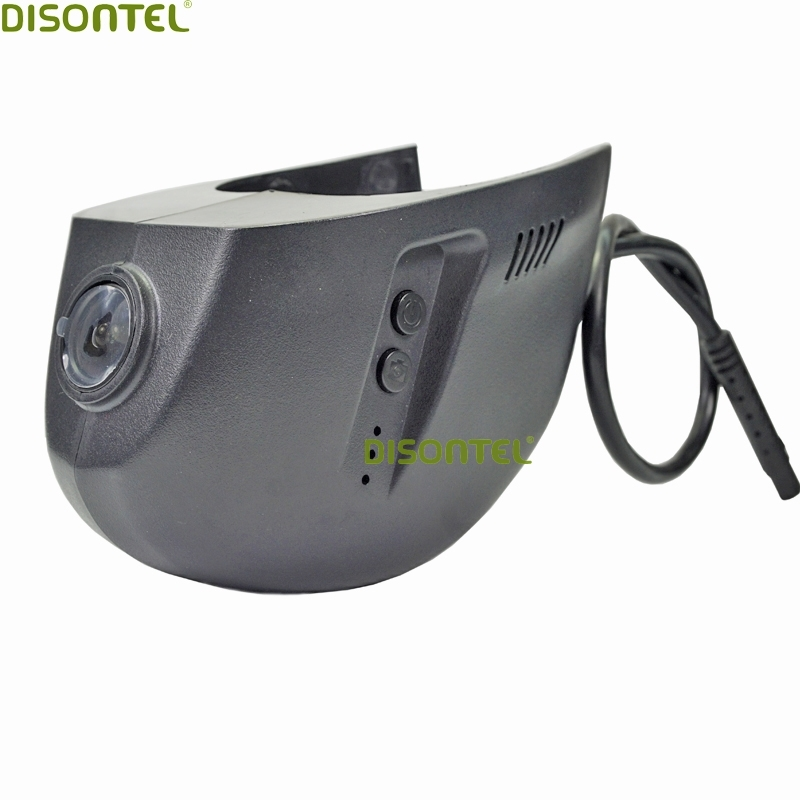 Disontel Dash Cam Car DVR Novatek 96655 with WIFI APP For Volkswagen VW Golf 7 2015