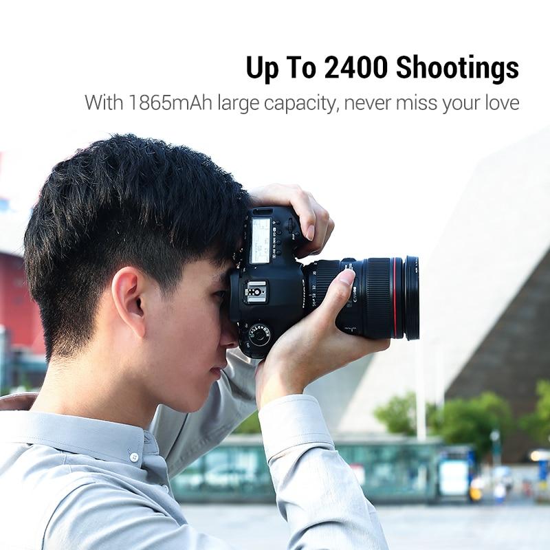 Ugreen LP-E6 Camera Battery 1865mAh for Canon LP E6 EOS 5D Mark 4/3/2 60D 5D4 70D 6D 6D2 5D2 7D 7D2 80D 5DS Camera Batteries 1