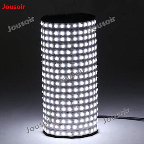 Falcon Eyes RX-18T Pliable Enroulable Tissu LED Vidéo Lumière 504 pcs LED CRI93 Mince Photographie Fill-in Light Lampe pour Studio CD50