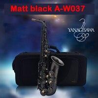 Новый Янагисава A WO37 Alto черный саксофон золотой лак золотой ключ Professional Super Play Sax мундштук для саксофона с чехлом