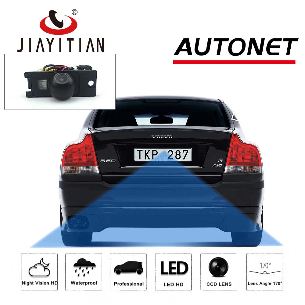 JIAYITIAN Rearview Camera For Volvo S60 S60R S60L 2001 2002 2003 2004 2005 2006 2007 2008 2009 Ccd Reverse Backup Parking Camera