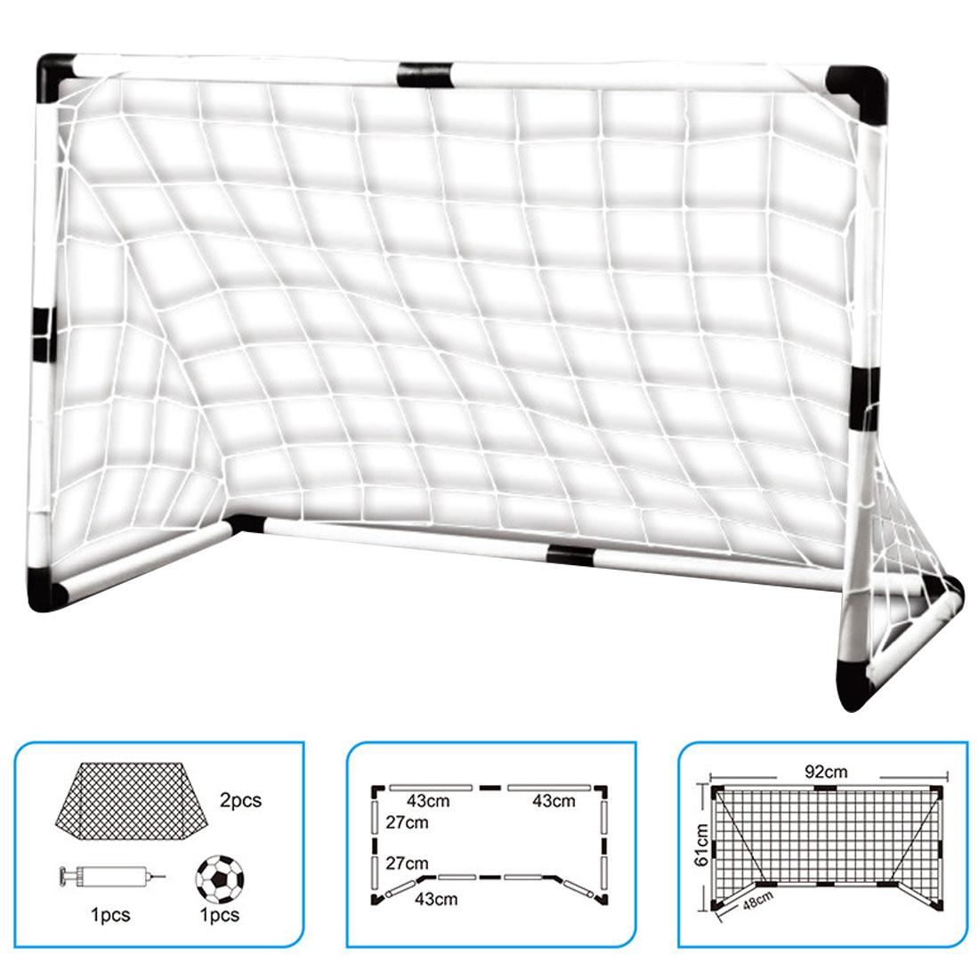 Hot Sale New 2 Sets Detachable Diy Children Sports Soccer Goals