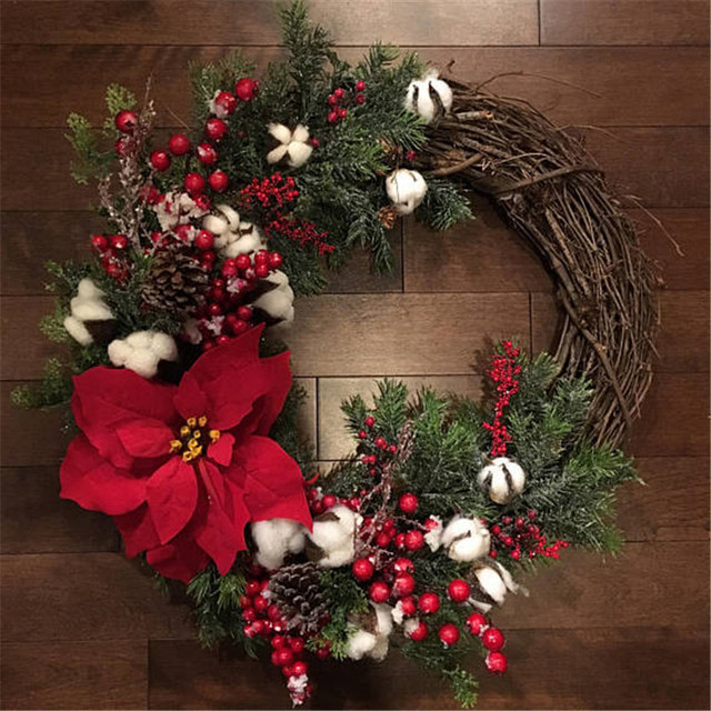 Christmas Wreath Door And Wall Decoration