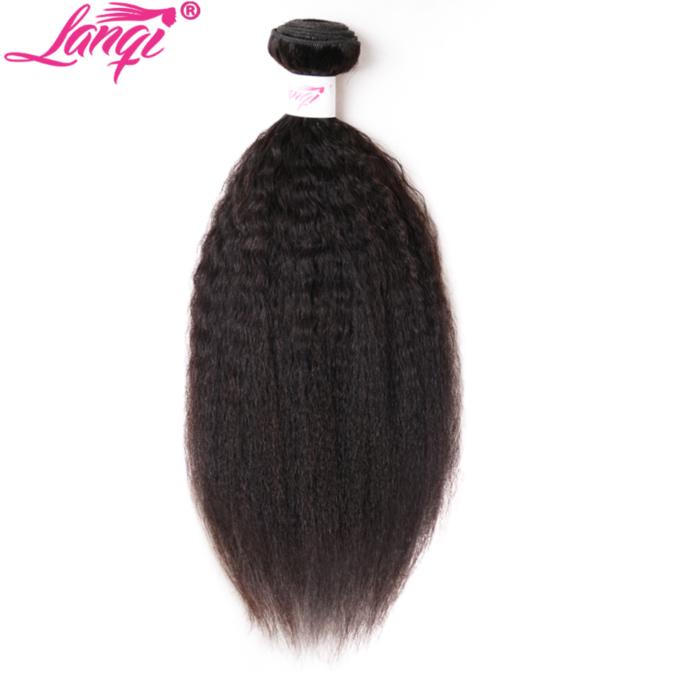 Kinky Straight Hair Bundle Deals Brazilian Hair Weave Bundles 1 pc Non Remy 8-28 inch Hair Weaving Bundles Human Hair Extensions