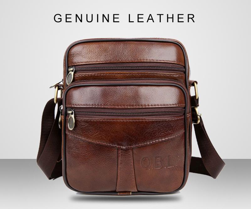 qibolu корова пояса из натуральной кожи курьерские сумки для мужчин путешествия сумка бизнес кроссбоди для человека sacoche Homme для болса masculina от mba19