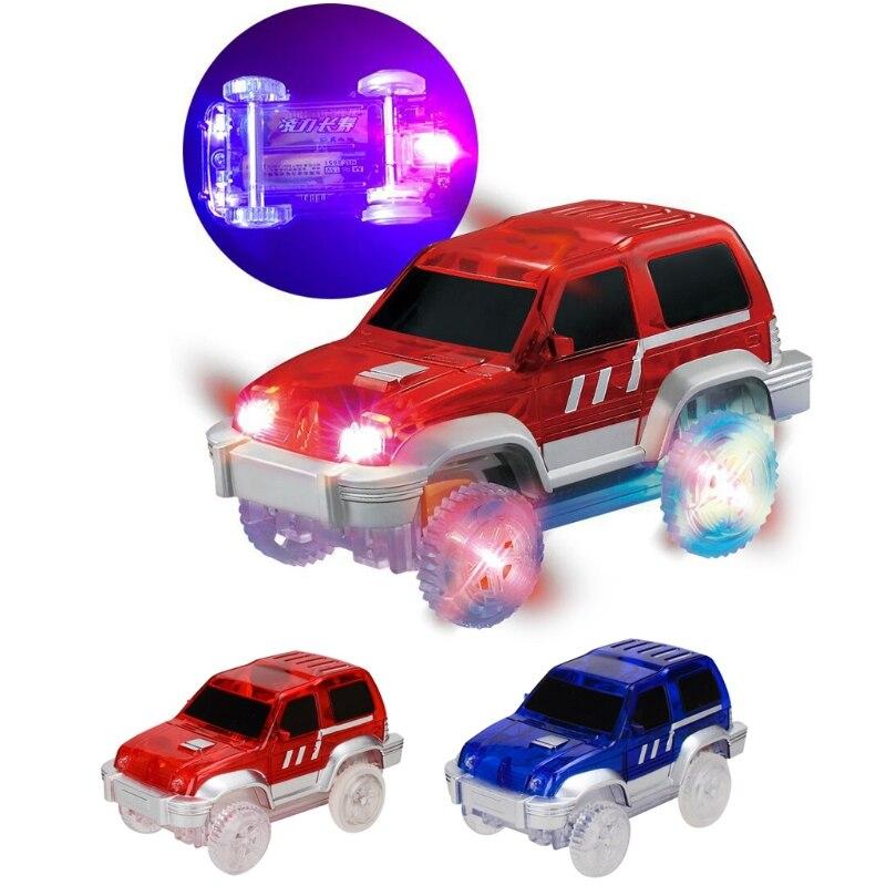 2019 Nieuwe Stijl Elektronica Led Light Up Speciale Auto Spoor Speelgoed Met Knipperende Lichten Educatief Speelgoed Perfect Gift