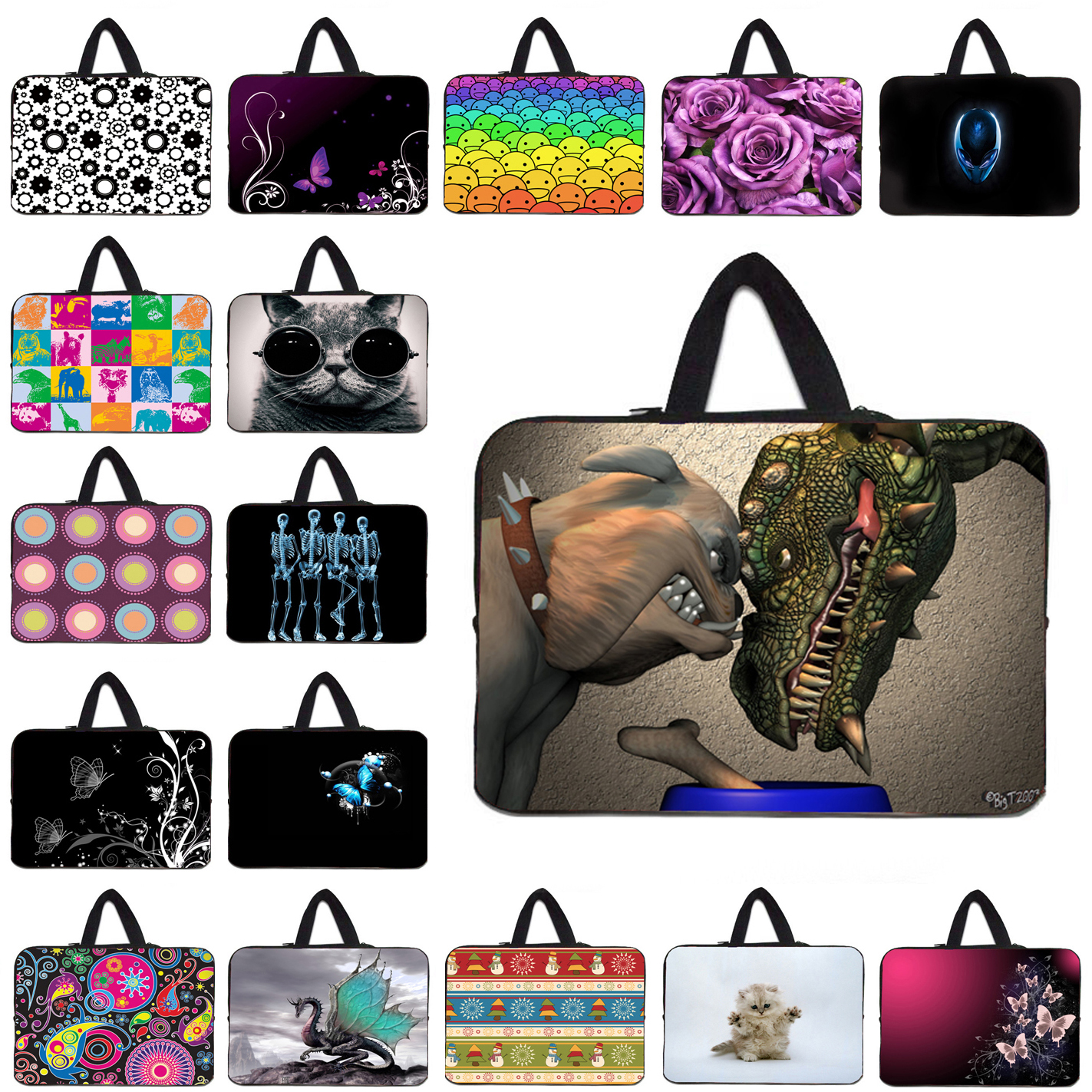 16.8 17.4 17.3 inch Sleeve Soft Laptop Cases 17 inch Neoprene Notebook PC Bags For Asus Lenovo HP Envy Macbook Pro Acer Thinkpad