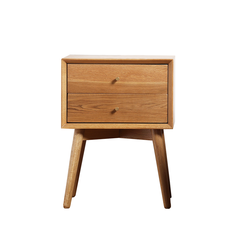US $468.0 |Minimalist Modern Design Wood Bedside Table cabinets chest of  drawers Small Table counter home bedroom furniture Nightstand-in  Nightstands ...