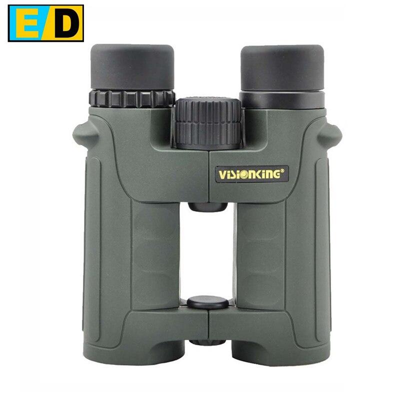 Free shipping! Visionking 8x42 Open bridge ED Binoculars birdwatching Hunting Phase Coated Waterproof Bak4,fogproof Brand New! Бинокль
