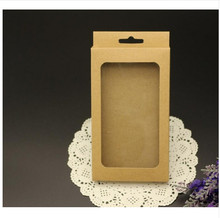 Retail kraft Paper Package Packing Paper Box For Mobile Phone Case Accessories