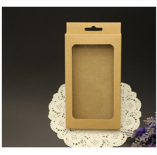 Retail kraft Paper Package Packing Paper Box For font b Mobile b font font b Phone