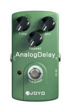 Joyo JF-33 Analog Delay Electric Guitar Effect Pedal Max Time Repeat True Bypass