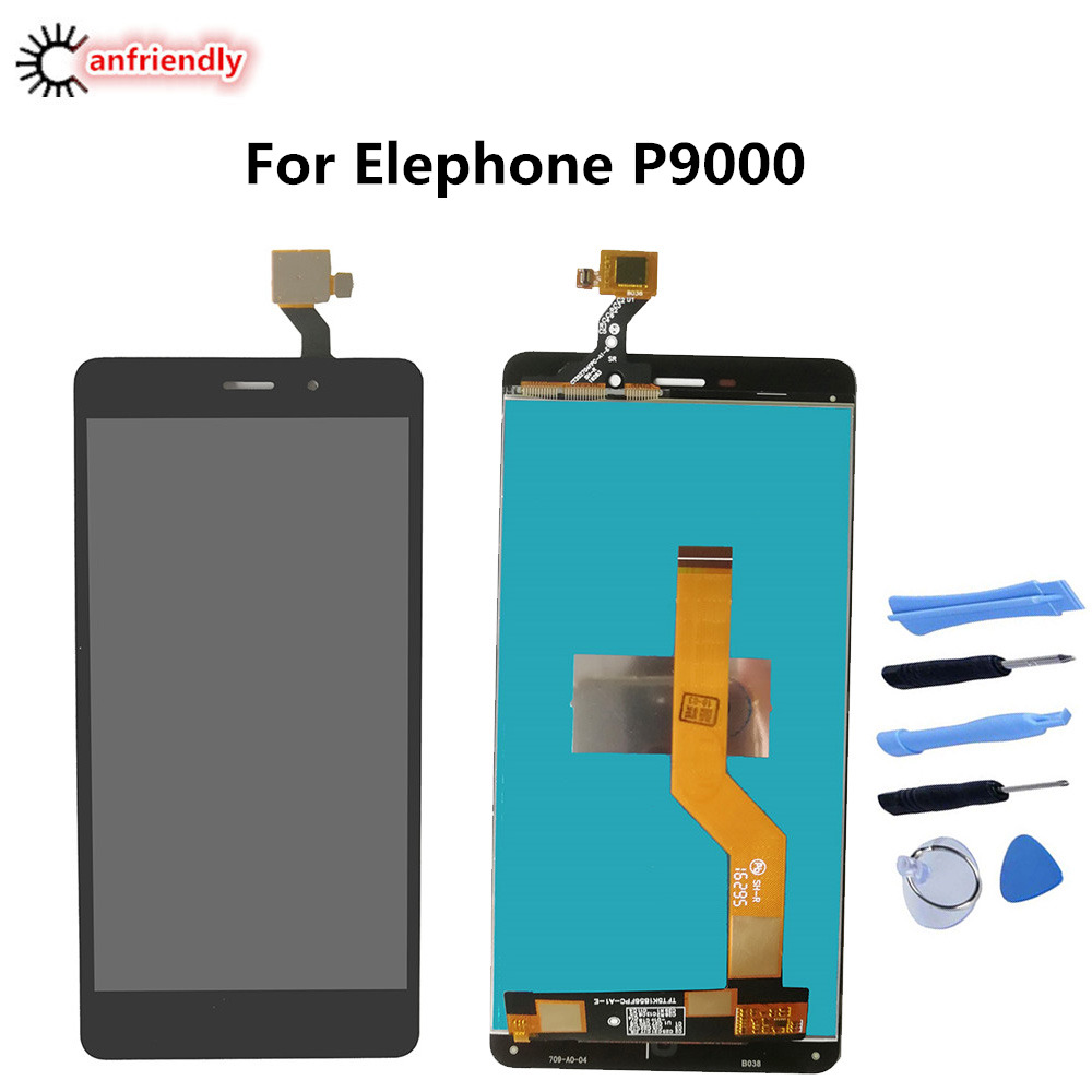 For Elephone P9000 5.5 LCD Display+Touch Screen Digitizer Assembly Replacement Glass Panel For Elephone P9000 P 9000 lcds partsFor Elephone P9000 5.5 LCD Display+Touch Screen Digitizer Assembly Replacement Glass Panel For Elephone P9000 P 9000 lcds parts