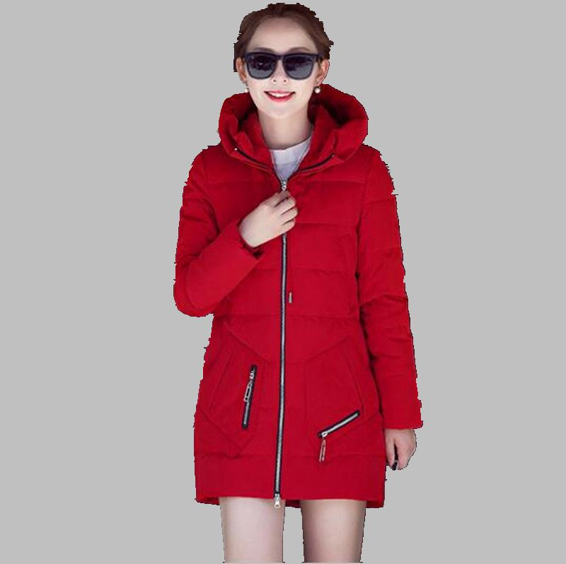 Winter New 2016 Women Hooded Thicken Keep warm Loose Big yards Fashion Trend South Korea Down