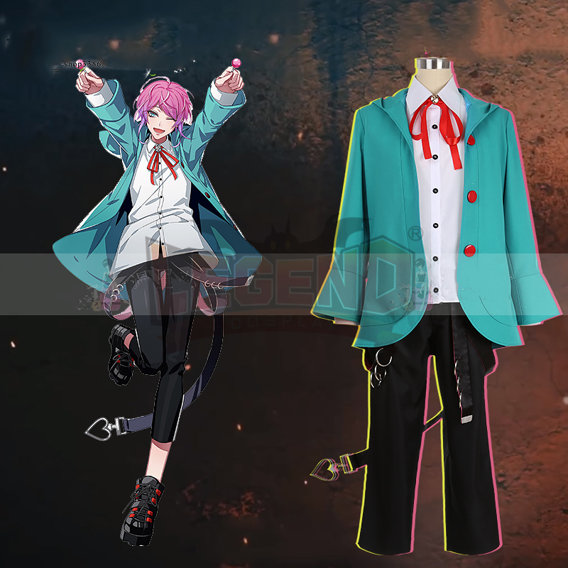Division rap battle HypnosisMic DRB Ramuda Amemura cosplay costume custom made