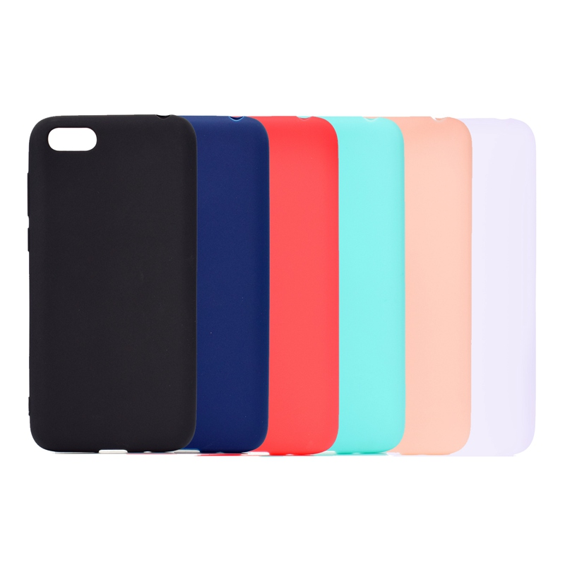 sFor Coque <font><b>Huawei</b></font> Y3 <font><b>Y5</b></font> Y6 2017 Y 6 5 Case Cover Candy Color For <font><b>Huawei</b></font> <font><b>Y5</b></font> Y6 Y9 <font><b>2018</b></font> Prime Silicone TPU Case Funda Etui Hoesjes image