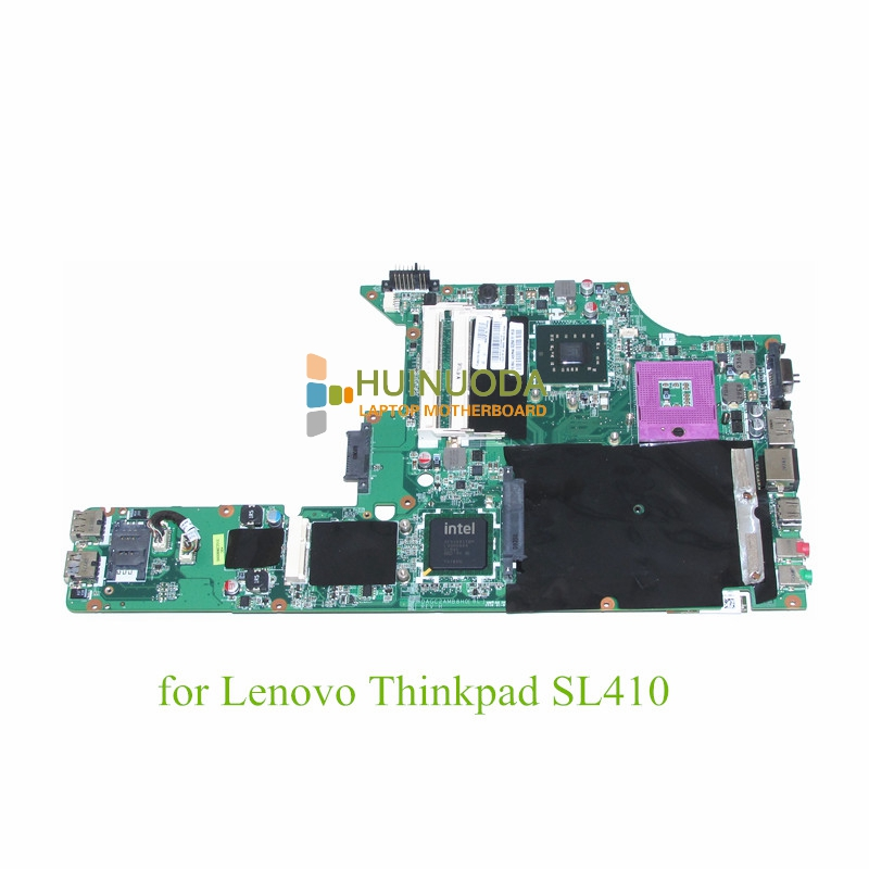 все цены на NOKOTION PN 63Y2096 Mainboard For lenovo thinkpad SL410 laptop motherboard GM45 DDR3 14 Inch онлайн