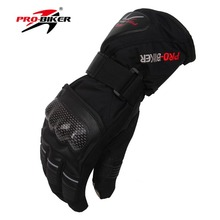 Cycling Skiing Snowboard Winter Gloves Outdoor Sports Gloves Warming Motor Non-slip Motorcycle Full Fingers Gloves цена 2017
