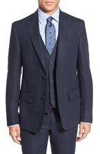 2016 Custom made Mens Suits Fashion Formal Dress Men Suit Set men wedding suits groom tuxedos(Jacket+Pants+Vest)