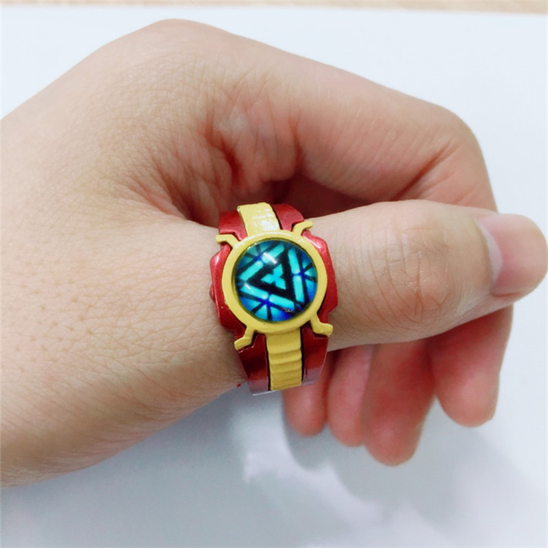 The Avengers3 Iron Man Logo Ring Marvel Wonder Woman Peripheral Products Cosplay Ring New Arrival high quality Woman Men Jewelry