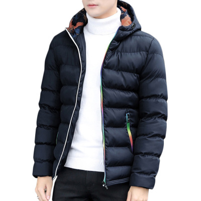 New Fashion Men's Cotton Overcoat Winter Thicken Jacket Men Coat Male Down Jacket Hooded   Parkas   Hombre Padded Plus Size Mantel