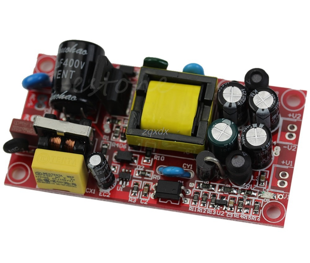 12V 1A/5V 1A AC-DC Buck Converter Double Isolation Output Module Power Supply Integrated Circuits DropShip image