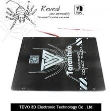 TEVO Tarantula calor cama Grande área de construcción 200*280*3.5mm De Aluminio Negro de calor cama de Impresión 3D Calor cama Hot Plate para 3D Impresora parte
