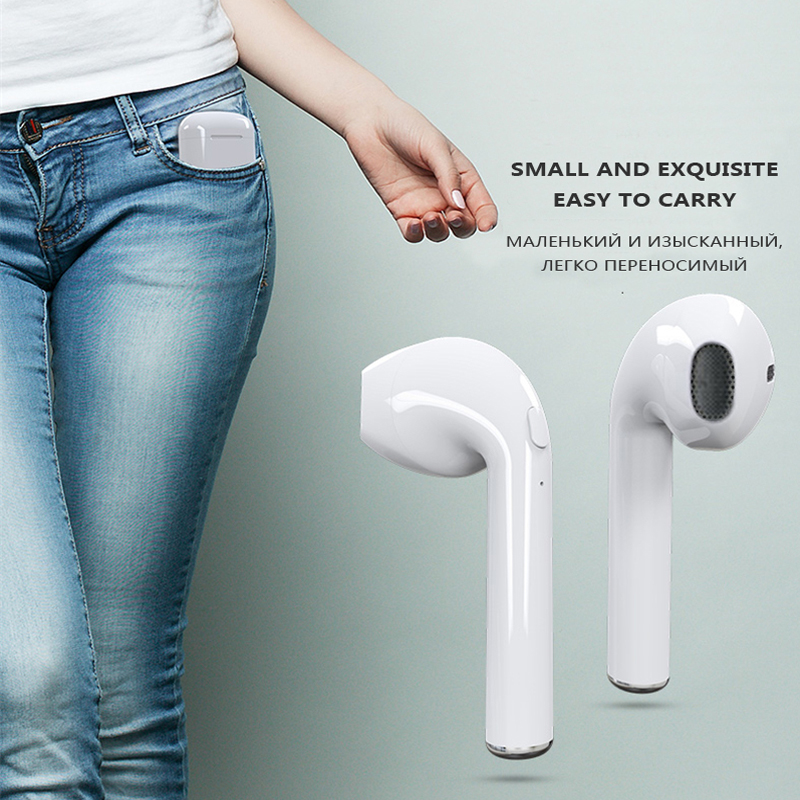 HTB1eHv1qVOWBuNjy0Fiq6xFxVXae - M&J i7s TWS Mini Wireless Bluetooth Earphone Stereo Headphone With Charging Box Mic