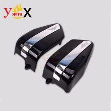 CMX250 lewa i prawa bateria motocyklowa osłony boczne osłony panelu dla Honda Rebel CMX250 1996-2002 1997 1998 CA250 1995-2002