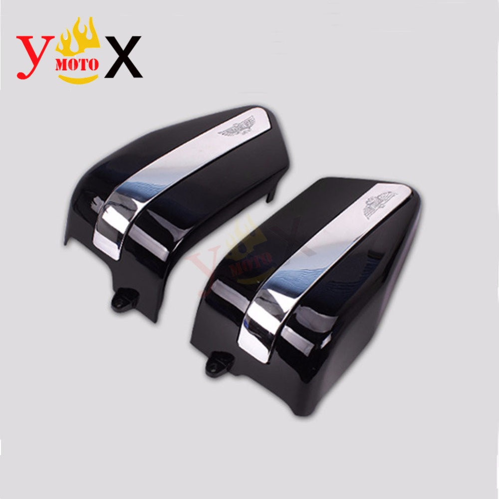 CMX250 Left&Right Motorcycle Battery Covers Side Faring Panel Guards For Honda  Rebel CMX250 CA250 1995 2005 CMX250C 2003 2005-in Covers & Ornamental ...
