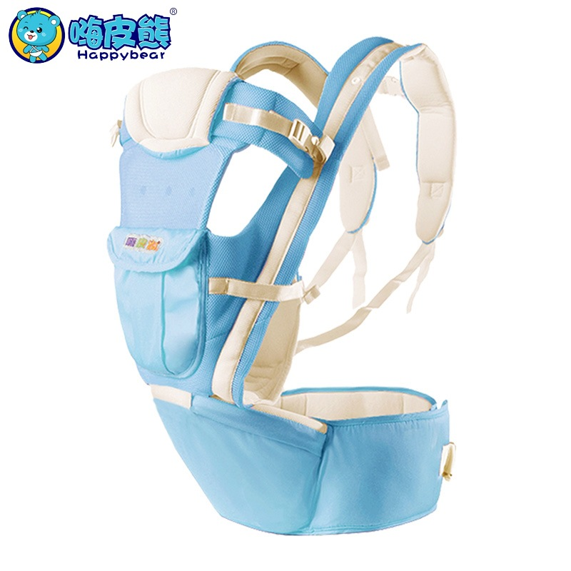 HappyBear Multifunction Baby Carrier Backpack Breathable Cotton Sling For Baby Chicco Wrap Rider Canvas Front Backpack цены онлайн