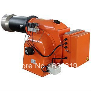 high quality two stage diesel oil fired burner, industrial light light fuel oil burner for boiler/oven/making furnace equipment