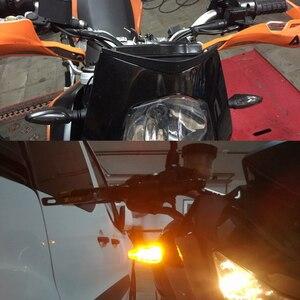 Image 5 - Мотоцикл светодиодный указатель поворота светильник лампа с желтым светом светильник лампа для Honda XL600 LMF CBF1000/A VT 750s VTX1300 NSR250