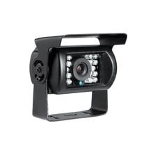 Venda barato 4 pinos 600tvl sony ccd ir night vision impermeável Carro Rear View Reversa Backup Camera para Truck Bus Van