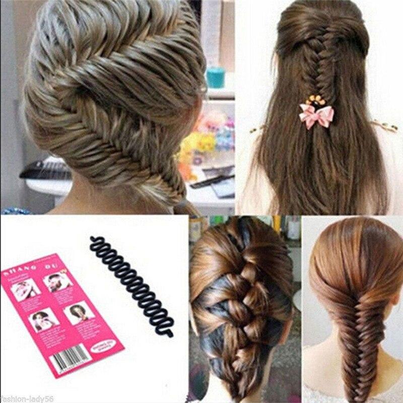 Beauty & Health Braiders New Elegant Popular Fashion Design Women Hair Styling Clip Stick Bun Maker Braid Tool Lady Beauty Hair Accessories High Quality