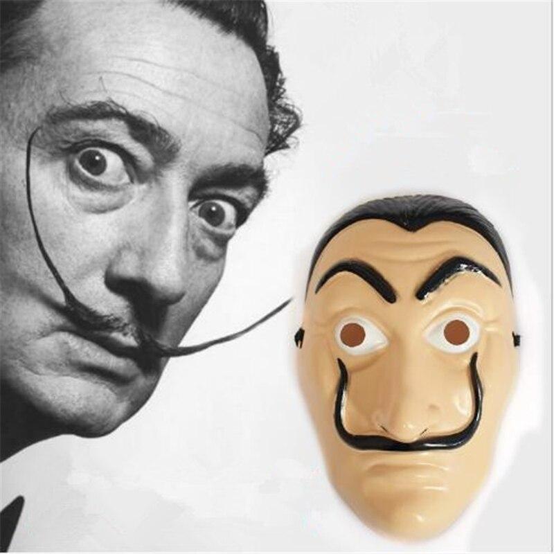 la casa de papel mask halloween horror masks party maske masquerade cosplay salvador dali paper