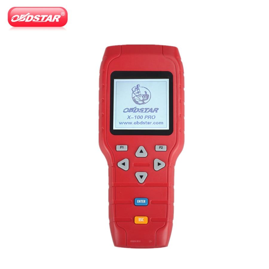 OBDSTAR X-100 PRO X100 Pro Auto Key Programmeur (C) type pour IMMO et OBD Logiciel Fonction Obtenir EEPROM Adaptateur Livraison