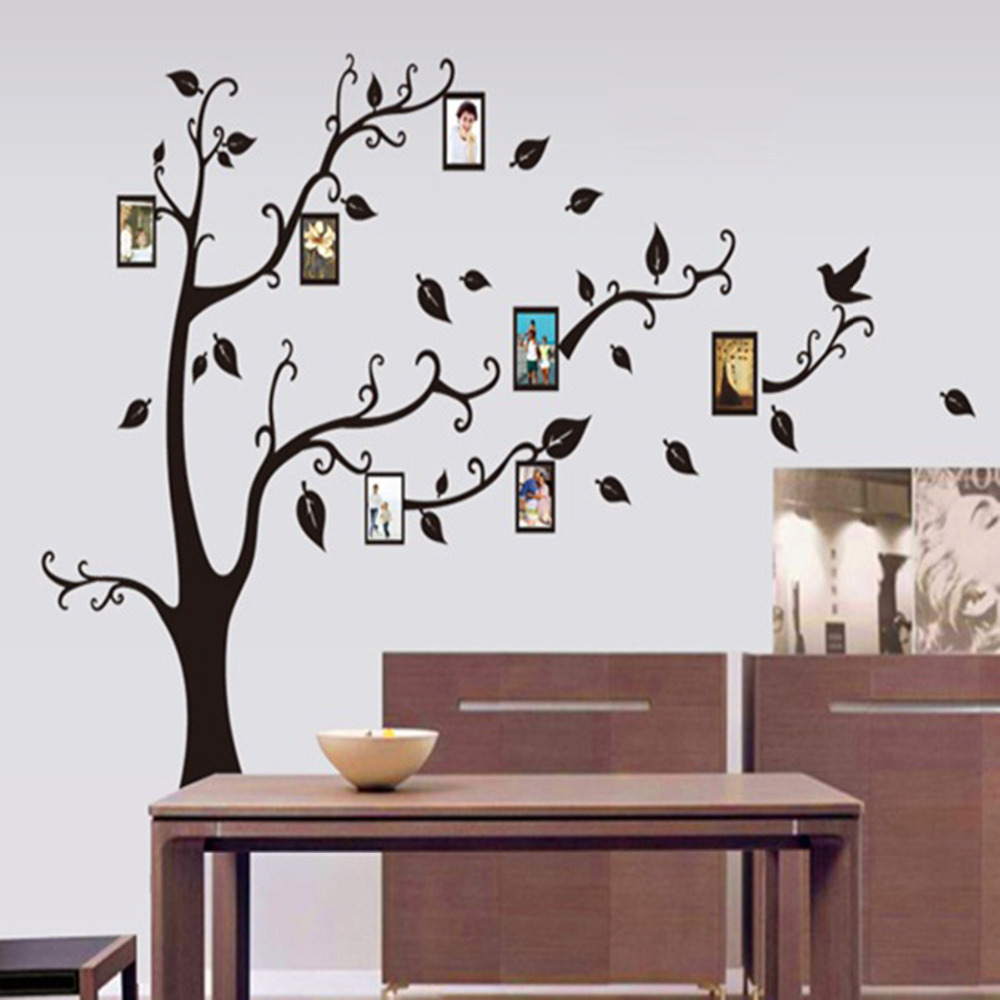 Popular Photo Frame Tree Home Decor Wallpaper Buy Cheap Photo