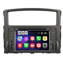 7 inch HD Car DVD Player with GPS Navigation system for Mitsubishi Pajero V97 V93 2006-2016 Map Bluetooth RDS Can Bus Radio AM
