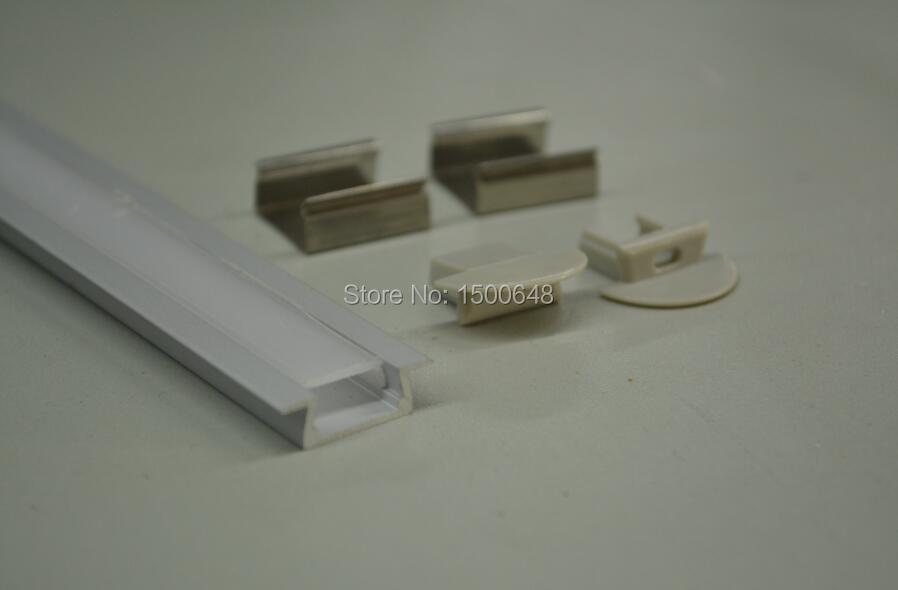 30pcs / vestavný hliníkový profil pro vodicí lišty SL-ALP2206 1m - LED Osvětlení