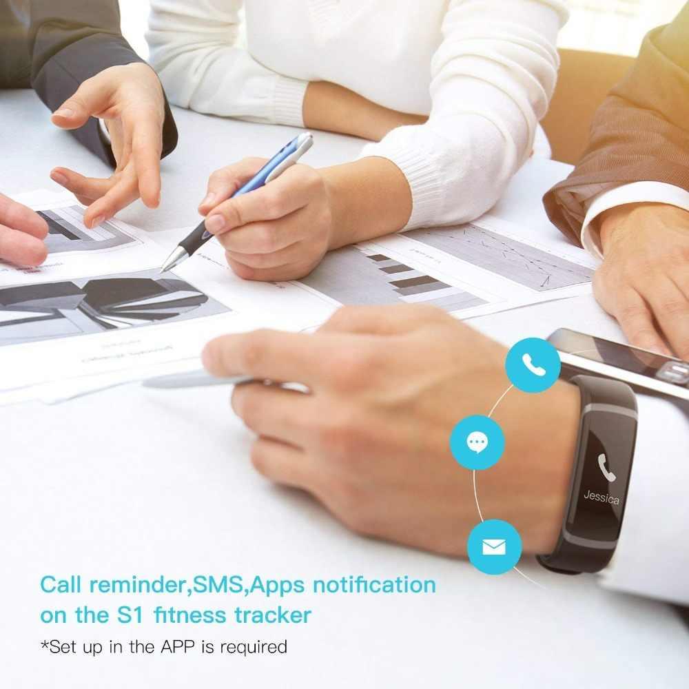 """GT101 fitness tracker 0,96 """"Farbe Bildschirm Smart Armband dynamische Echt-zeit Herz-Monitor-Sport wasserdichte uhr & stoppuhr"""