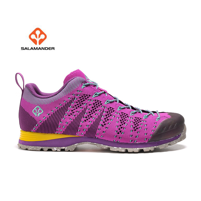SALAMANDER Women's Outdoor Hiking Trekking Sneakers Shoes For Women Sports Climbing Mountain Trail Shoes Sneaker Woman humtto women s leather outdoor hiking trekking sneakers shoes for women purple sports climbing mountain shoes woman sneaker