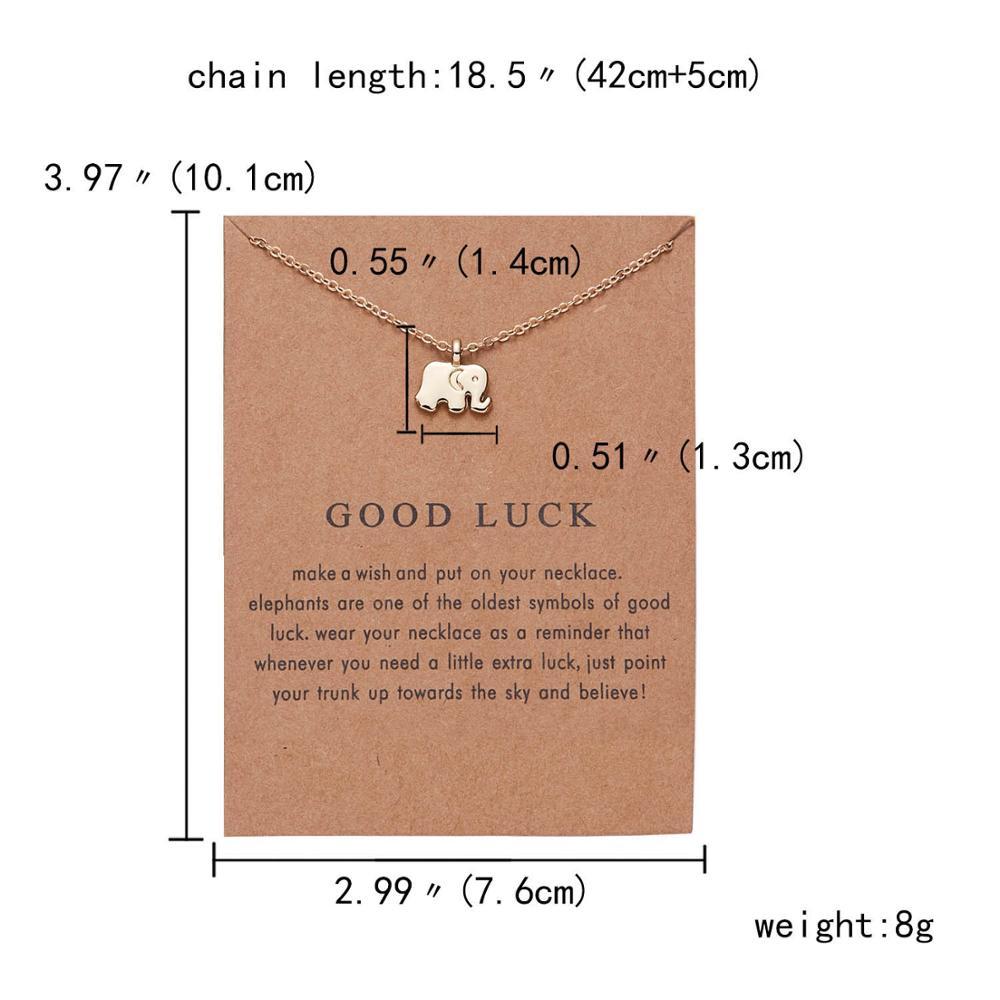 Rinhoo бабочка слон жемчуг любви золотого цвета Кулон ожерелье s цепочки на ключицы ожерелье модное ожерелье женские ювелирные изделия - Окраска металла: 2