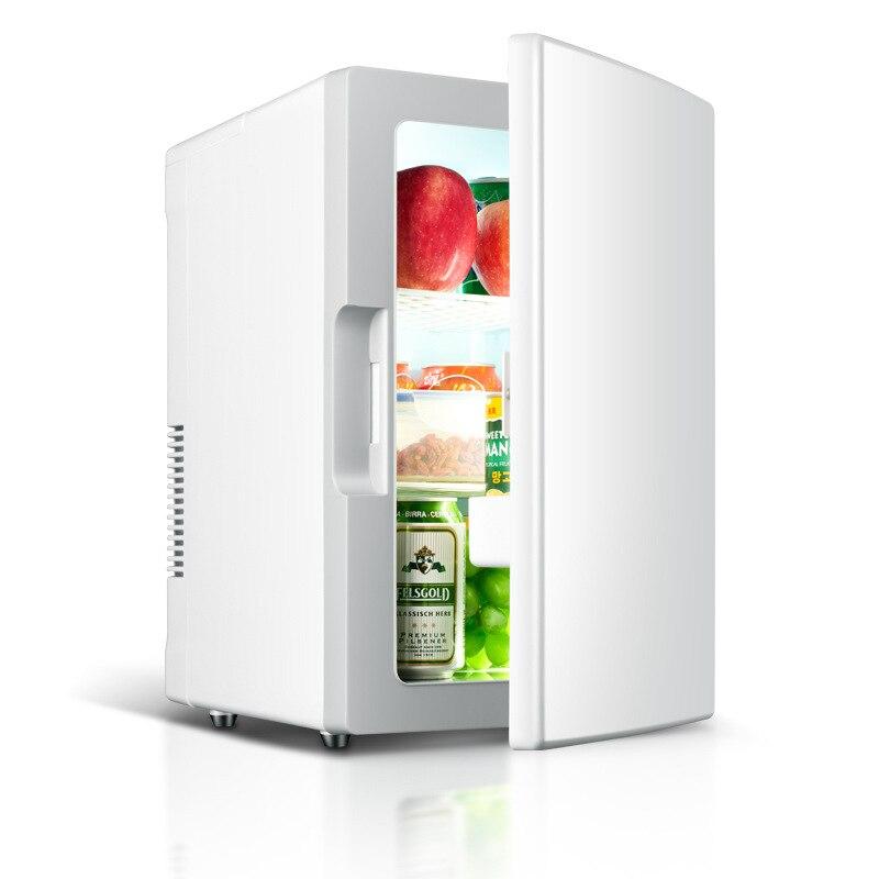 Voiture voiture 18L réfrigérateur Portable mini réfrigérateur ménage voiture chauffage et refroidissement boîte étudiant dortoir réfrigérateur