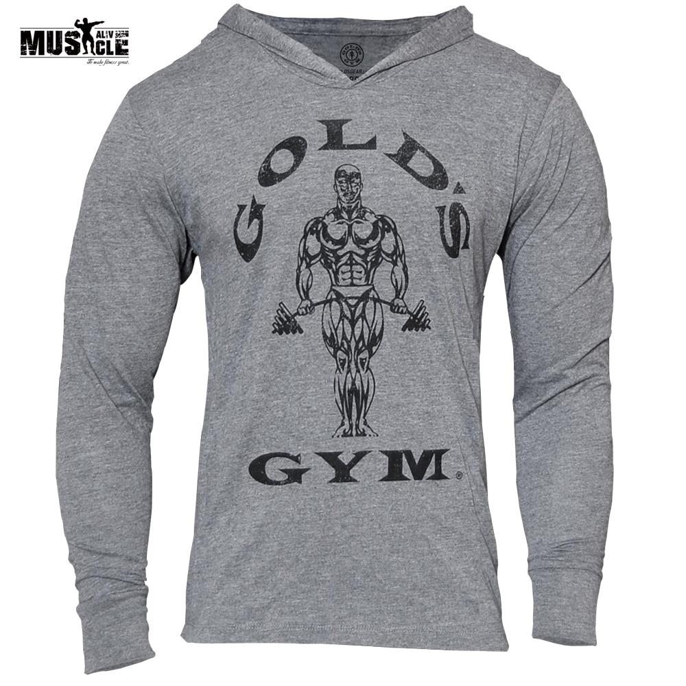 Golds Brand Clothing Sweatshirts Men 3D Hoodies Bodybuilding Streetwear Fitness Workout Tracksuit Male Cotton Moletom Masculino