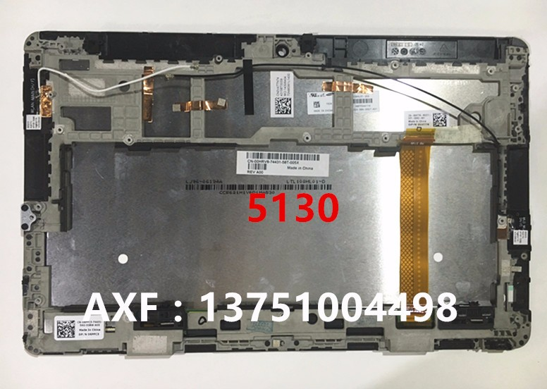 For Dell Venue 11 pro 7130 and 5130 Tablet PC LCD Display Panel Touch Screen Digitizer Assembly Replacement картридж samsung clt m506l для clp 680nd clx 6260fd 6260fr пурпурный