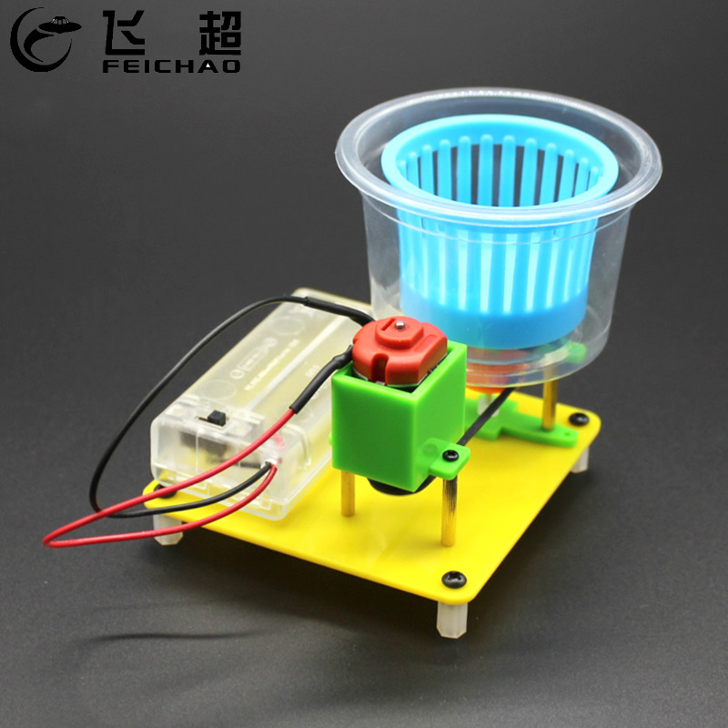 DIY Dehydrator Dryer Model Materials Kits Electric Motor Manual Assembly Model Toy Experiment For Children Student